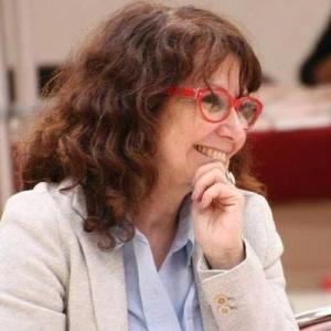 Senadora comunista francesa Laurence Cohen, presidenta do grupo de amizade França-Brasil no Senado