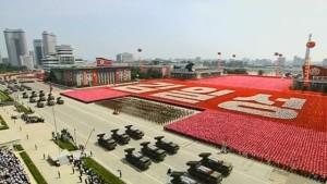 Desfile cívico militar; mobilização dissuassória