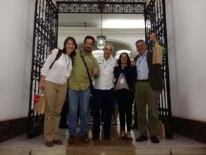 Delegação brasileira Caracas