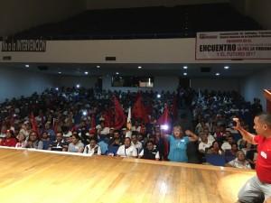 Centenas de organizações sociais do México e de mais 11 países participaram do encontro