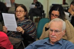 Plenário acompanha leitura da proposta de Moção sobre a Venezuela / Foto: Nena Machado