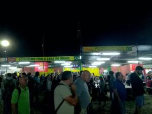 Espaço do PCdoB na festa do Avante! / Foto Moara Crivelente