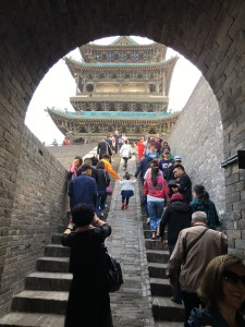 A muralha de Pinghiao na região de Shanxi