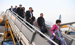 Delegados do 19º Congresso Nacional do PCCh chegam a Pequim