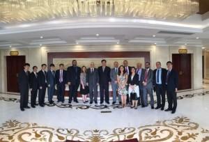 A delegação multipartidária da esquerda brasileira