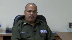 Tenente-coronel Francisco Estrada Portales, chefe da seção de Investigação Criminal, do Ministério do Interior.