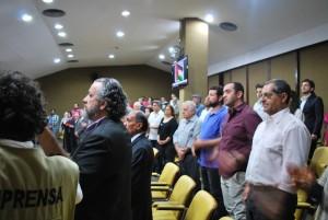 Um visão do plenário / Foto: Hasan Rabee