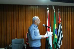 Intervenção de José Reinaldo em nome do PCdoB / Foto: Hasan Rabee
