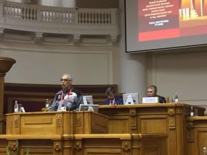 José Reinaldo faz, em nome do PCdoB, sua intervenção no EIPCO