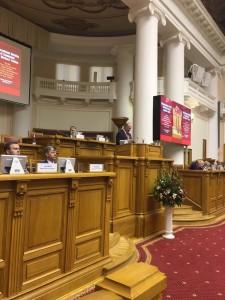 Discurso de Ziuganov.