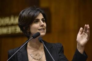 Manuela, pré-candidata do PCdoB à presidência da República