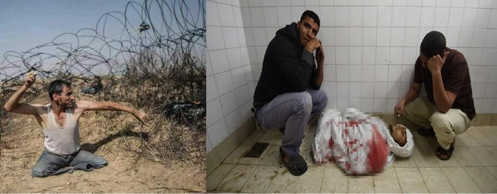 Fadi Abu Salah, depois de uma luta desesperada contra os opressores sionistas, tomba morto nesta segunda-feira (14) véspera da Nakba